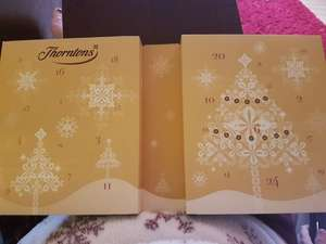 Thorntons classic / continental Advent Calendar was £10 now £3 each or 4 for £10 instore @ Thorntons