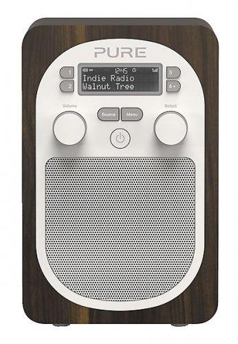Pure Evoke D2 DAB/FM Radio (Walnut) for £64.99 (£58.56 after cashback) at Clas Ohlson