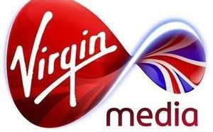 Virgin Media SuperFibre 50 broadband Was £27 a month, Now £18 a month - £230.99 total
