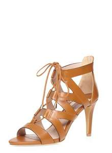 Tan 'Sunrise' Lace Up Sandals @ Dorothy Perkins free C+C - £10