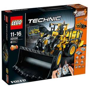 LEGO Technic 42030 Remote-Controlled VOLVO L350F Wheel Loader - £125 @ John Lewis