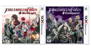 Fire Emblem Fates: Conquest OR Birthright £24.99 each (instore only) @ Smyths for the 3ds