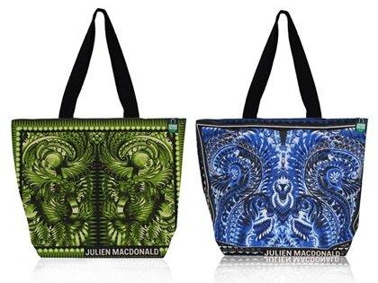 Julien MacDonald BLUE Tote Bag £2 at Tesco.com C&C