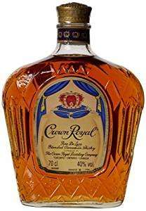 Crown Royal Blended Canadian Whiskey Bottle, 70 cl at Amazon for £21.99