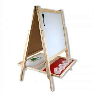 Kids 3-in-1 Activity Easel £25 & Free £20 Easel Accessory Set 23 Pack @Hobbycraft