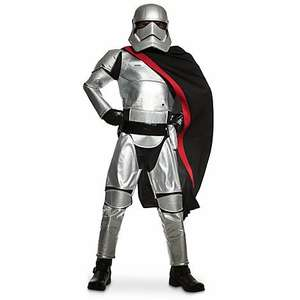 Captain Phasma dress up costume @ Disney Store  online £5 plus £3.95 del