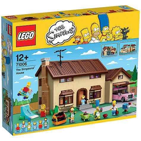 Lego Simpsons house £161.99 (John Lewis online)