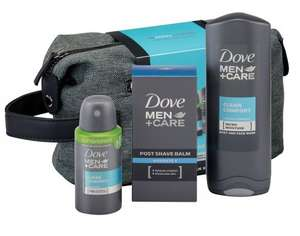 Dove Men+Care Total Care Washbag Gift Set £6.00 Prime / £10.75 Non Prime @ Amazon