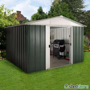 Shedstore 10' x 8' Yardmaster Green Metal Shed 108GEYZ (3.03x2.37m) £289.99 Incl VAT & free delivery most areas! &&& TCB