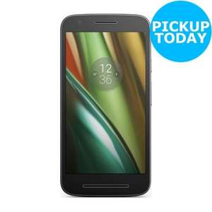 Motorola Moto E3 Sim Free £80.96 with coupon code - Argos on Ebay
