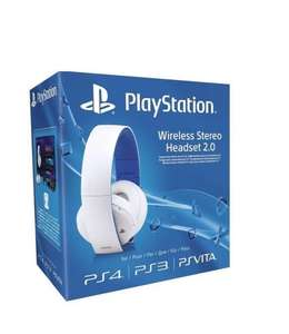Sony PlayStation Wireless Stereo Headset 2.0 - White (PS4/PS3/PS Vita) - £46.54 via Amazon