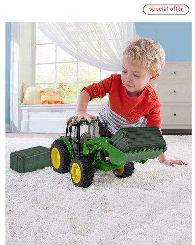 John Deere tractor £16 was £40 at ELC Free c&c (Quidco 4.4% cashback)