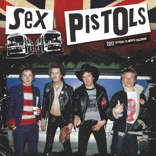 Sex Pistols Calander 2017 10% off - £8.99 @ Calendar Club