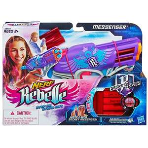 Nerf rebelle messenger blaster £3.99 @ home bargains instore