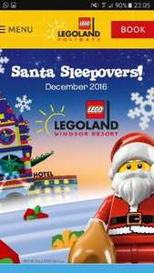 Santa Sleepover at the LEGOLAND® Windsor Resort Hotel!