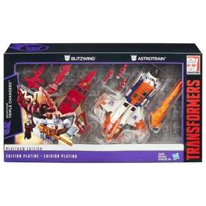 Transformers platinum 2 pack triple changers blitzwing & Astrotrain from £69.99 down to £19.99 @ A1 toys