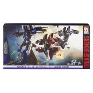 Transformers platinum G1 reissue seeker squadron Dirge, Ramjet, Thrust boxed set £99.99 down to £24.99 @ A1 toys