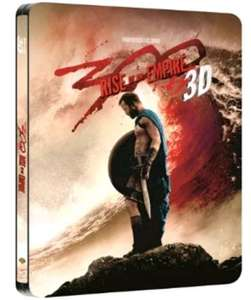 300: Rise Of An Empire 3D & 2D Blu-Ray Steelbook £5.99 from Entertainment Store on eBay
