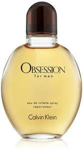 125 mls Calvin Klein Obsession for Men Eau de toilette - £19.69 (Prime) / £23.98 (non Prime) at Amazon