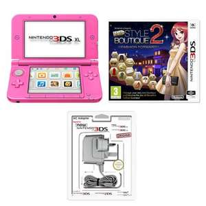 pink 3ds xl pink + Nintendo Presents: New Style Boutique 2 - Fashion Forward  £139.99 nintendo store