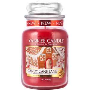 Large Candy Cane Lane Yankee Candle - Now £14.34 on Amazon and available for Prime delivery