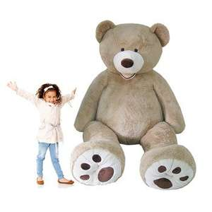 "Enormous Hugfun Plush Bear 93""/236cm reduced to £95.96 @ Costo instore"