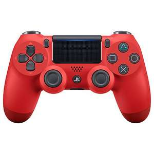 PS4 DualShock 4 Wireless Controller, Magma Red - £42.74 @ John Lewis - Free c&c