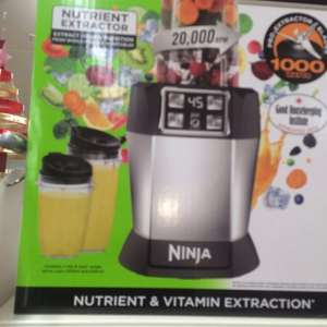 Nutri Ninja BL480UK 1000-Watt Blender With Auto-IQ £50 @ Sainsbury's - Dulwich