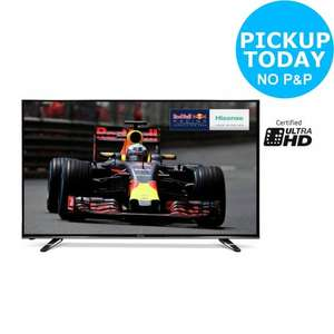 Hisense M3300 55 Inch 4K Ultra HD Freeview Smart LED WiFi TV £449.10 @ Argos Ebay (Collection)