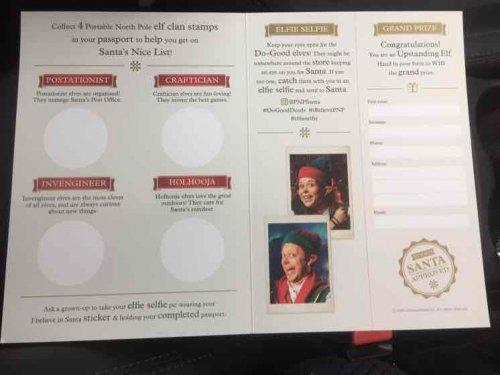 John Lewis Santa trail with free gift