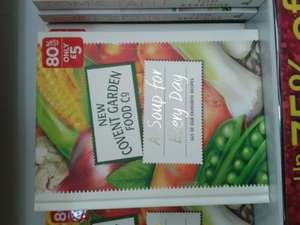 Covent Garden Soup recipe book - A soup for every day! Reduced by 80% to £5 @ WHSmith - Churchill Square - Brighton