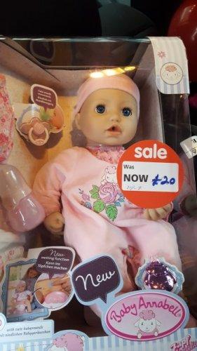Baby Annabell £12.50 at Asda instore