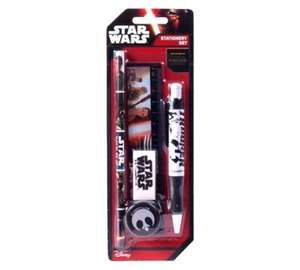 Star Wars: The Force Awakens Stationery Set 9p @ Argos