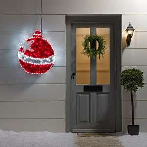 Outdoor Christmas Bauble Tinsel LED Rope Light Silhouette £49.99 / £51.98 delivered @ Lights 4 fun