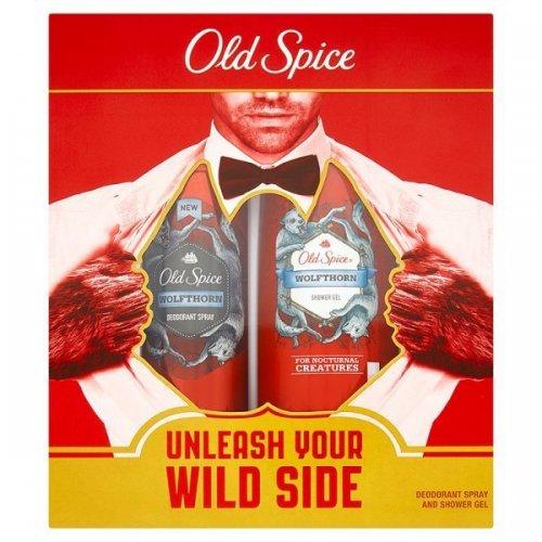 Old Spice Wolfthorn Body Spray and Shower Gel Gift Set at Superdrug - £3.50