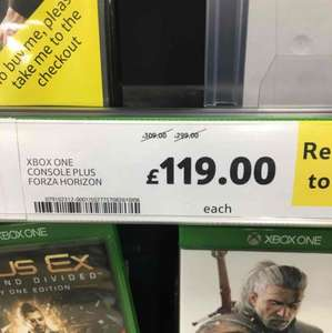 Tesco Xbox One deals £119 see OP