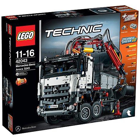 LEGO Technic Mercedes-Benz Arocs 3245 (42043) £120 @ John Lewis (RRP £169.99)