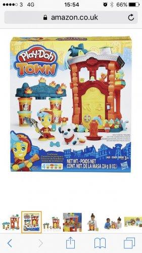 Hasbro play doh firehouse - £9.14 @ Amazon (+ £4.75 delivery non Prime)