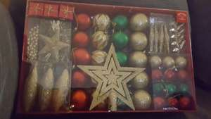 xmas decoration set instore reduced to £6 from £12 @ Tesco instore / online