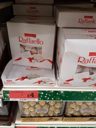 Ferrero Rocher Raffaello 240g £4.00 @ Sainsbury's