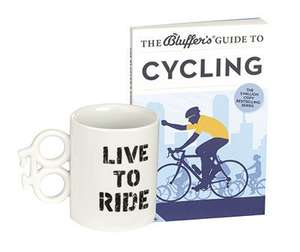 Bluffers Guide To Cycling Mug and book £2.99 @ halfcost (Free p&p over £5)