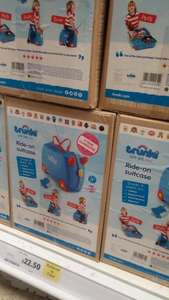 Blue, pink and gruffulo trunki's in store in Tescos (Stafford) was £35 reduced to £22.50