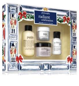 Philosophy Gift Set including  Microdelivery Peel £31.90 Boots