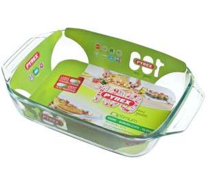 Pyrex dish, for cooking those roasts - £2.80 - Argos (Home Del Item Only - Del Charges Differ Depending on Location)