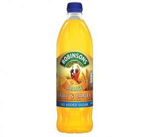 Robinsons 1L Orange and Barley only 49p @ Farmfoods
