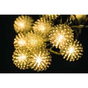 10 battery operated LED snowball lights - was £9.99 now £3.74 (click and collect available) @ Maplin