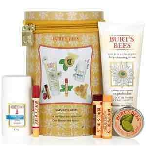 BURT'S BEES NATURE'S BEST BEESWAX GIFT SET (WORTH £50.00).  Now £22.50 + Free Standard Delivery @ Look Fantastic