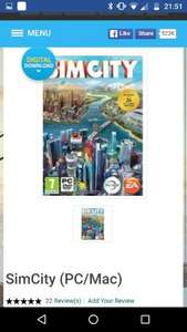 Sim City PC 3.99 @ CDkeys