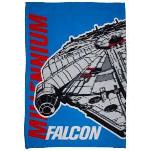 Star Wars Polar Fleece blankets 120cm x 150cm £3.83 @ IWOOT