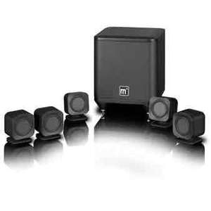 Mission M3 M-CUBE Black 5.1 Satellite Speaker Package - Audiovisual Online - £299 Delivered Next Day